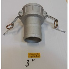 """Cam-Lock 3"""" typ""""C"""" Aluminium"""