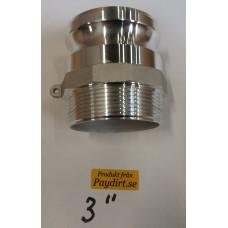 """Cam-Lock 3"""" typ""""F"""" Aluminium"""
