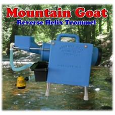 Mountain Goat Reverse Helix Gold Trommel